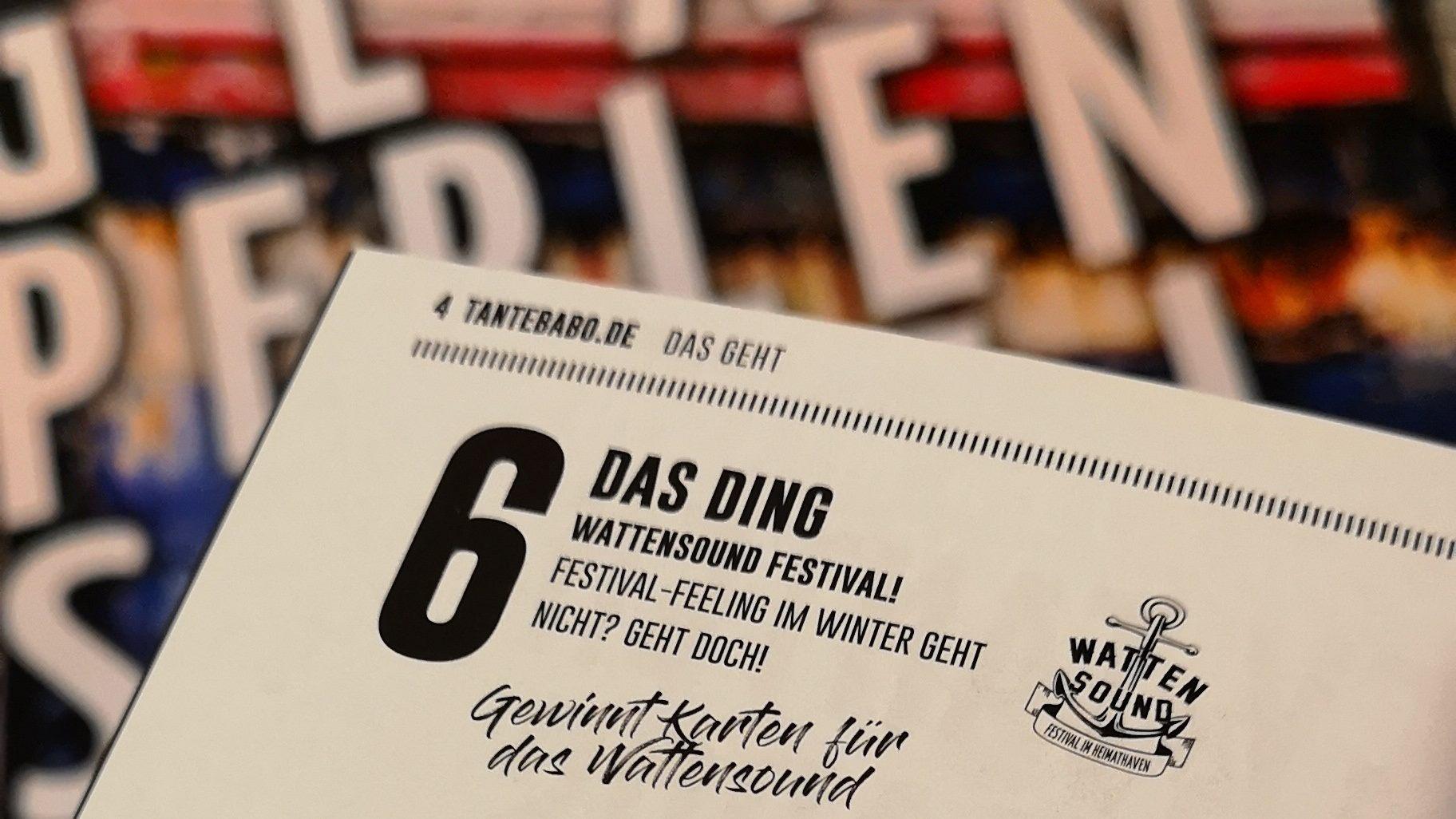 WATTENSOUND – DAS DING!
