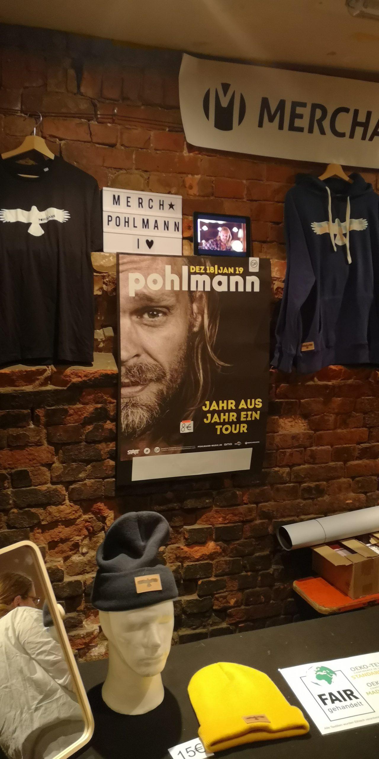 +++ Pohlmann live +++